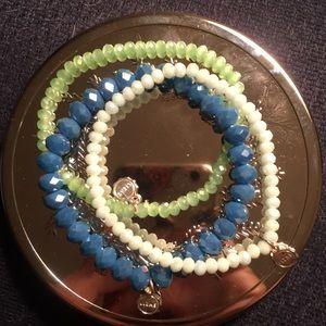 Lizas bead bracelets